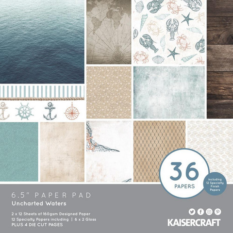 Kaisercraft paperikko Uncharted Waters