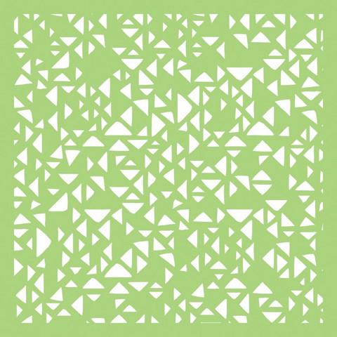 Kaisercraft sapluuna Tiny Triangles