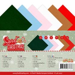 Yvonne Creations kartonkipakkaus Sweet Christmas, 13.5 x 27 cm