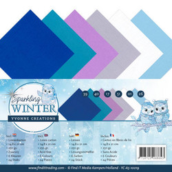 Yvonne Creations Sparkling Winter kartonkipakkaus, A5