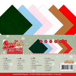Yvonne Creations Sweet Christmas kartonkipakkaus, A5