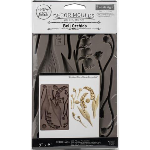 Prima Re-Design Decor Mould -muotti Bell Orchids