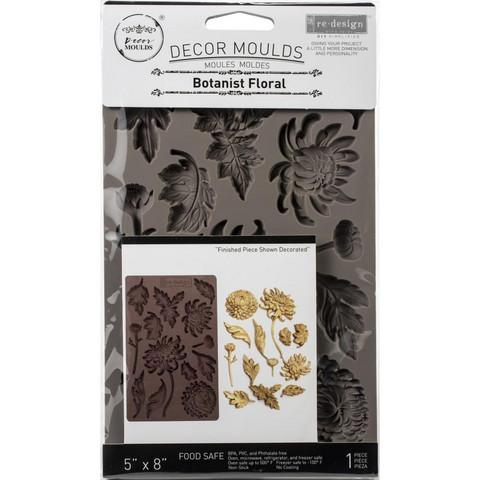 Prima Re-Design Decor Mould -muotti Botanist Floral