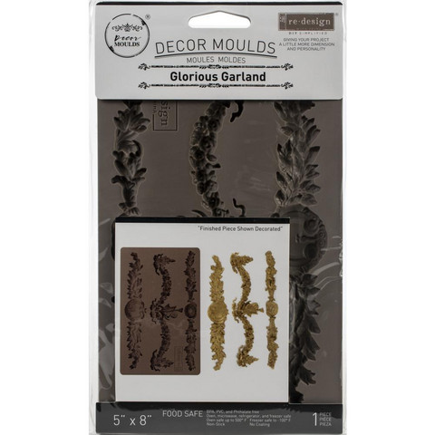 Prima Re-Design Decor Mould -muotti Glorious Garland