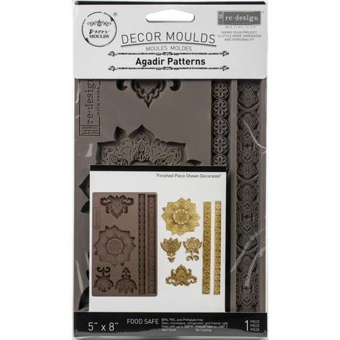 Prima Re-Design Decor Mould -muotti Agadir Patterns