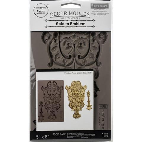Prima Re-Design Decor Mould -muotti Golden Emblem