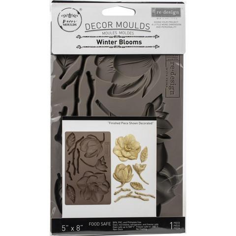 Prima Re-Design Decor Mould -muotti Winter Blooms