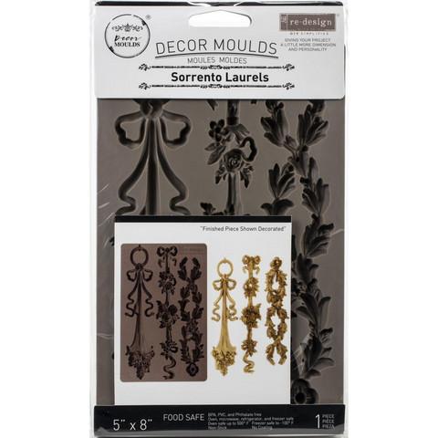 Prima Re-Design Decor Mould -muotti Sorrento Laurels