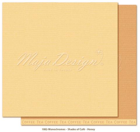 Maja Design Monochromes - Shades of Café skräppipaperi Honey