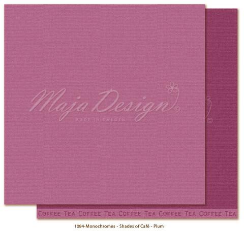 Maja Design Monochromes - Shades of Café skräppipaperi Plum