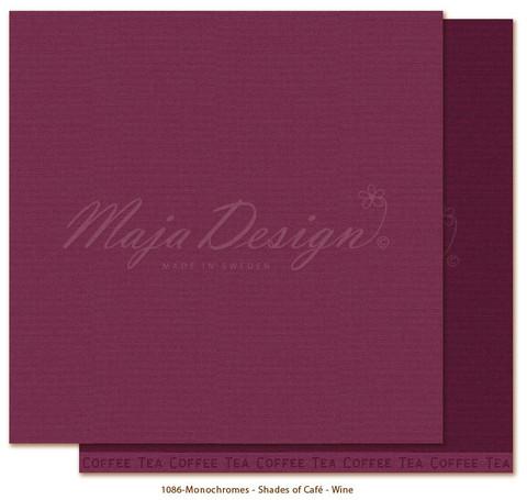 Maja Design Monochromes - Shades of Café skräppipaperi Wine