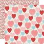 Simple Stories My Valentine skräppipaperi Heart Yo Heart