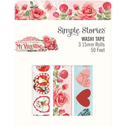 Simple Stories My Valentine washiteipit