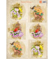 Marianne Design Birds & Birdcages 1 -korttikuvat