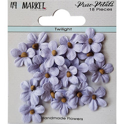 49 and Market Pixie Petals paperikukat Twilight