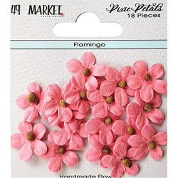 49 and Market Pixie Petals paperikukat Flamingo