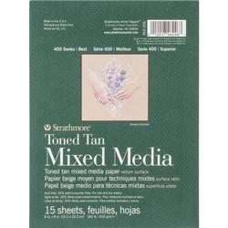 Strathmore Mixed Media -paperipakkaus, 6