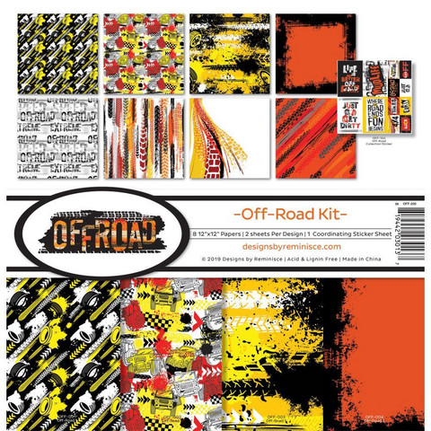 Reminisce Off-Road -paperipakkaus 12
