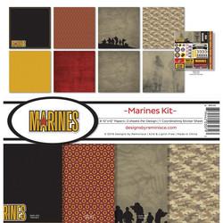 Reminisce Marines -paperipakkaus 12