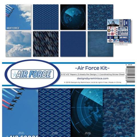 Reminisce Air Force -paperipakkaus 12