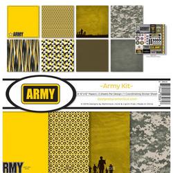 Reminisce Army -paperipakkaus 12