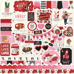 Echo Park tarra-arkki Be My Valentine