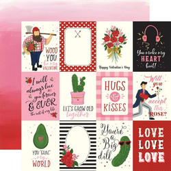 Echo Park Be My Valentine skräppipaperi 3