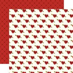 Echo Park Be My Valentine skräppipaperi Sweethearts