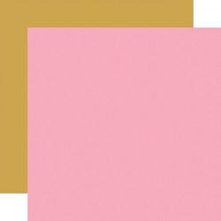 Echo Park Be My Valentine skräppipaperi Pink / Gold