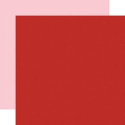 Echo Park Be My Valentine skräppipaperi Red / Light Pink