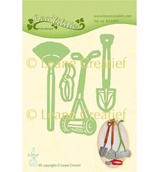 Leane Creatief stanssisetti Garden Set: Lawn Mower
