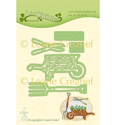 Leane Creatief stanssisetti Garden Set: Wheelbarrow