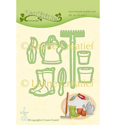 Leane Creatief stanssisetti Garden Set: Watering Can