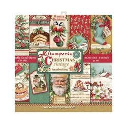 Stamperia paperipakkaus Christmas Vintage, 8