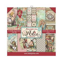 Stamperia paperipakkaus Alice, 8
