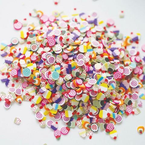 Dress My Crafts Shaker -koristeet, Dessert Mix