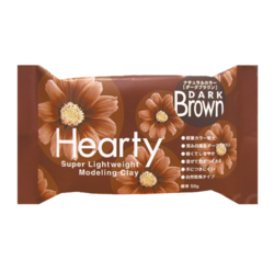Hearty Super Lightweight Air-Dry Clay, kevytsavi, tummanruskea, 50 g