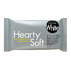 Hearty Soft Lightweight Air-Dry Clay, kevytsavi, valkoinen, 200 g