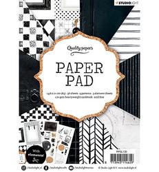 Studio Light paperikko Black & White, A5