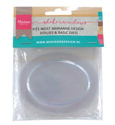 Marianne Design Shaker kuvut, soikea, 10 kpl