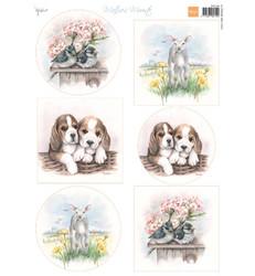 Marianne Design Spring -korttikuvat