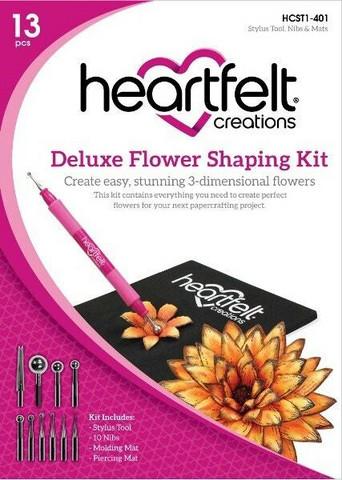Heartfelt Creations Deluxe Flower Shaping Kit, muotoilusetti