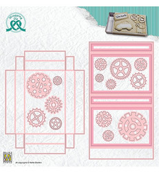 Leane Creatief stanssisetti Giftcard Box