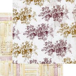 Prima Pretty Mosaic -skräppipaperi Floral Toile