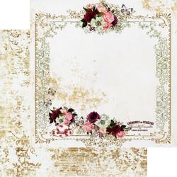 Prima Pretty Mosaic -skräppipaperi Tea & Roses