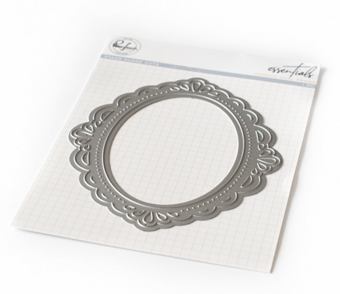 Pinkfresh Studio stanssi Ornate Oval Frame