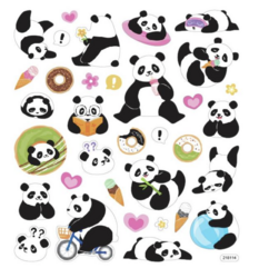 Sticker King tarrat Playful Pandas