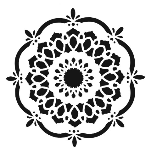 Crafter's Workshop sapluuna Handcut Blossom