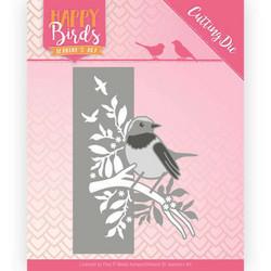 Jeanines Happy Birds stanssi Bird Edge
