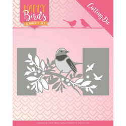 Jeanines Happy Birds stanssi Bird Sleeve